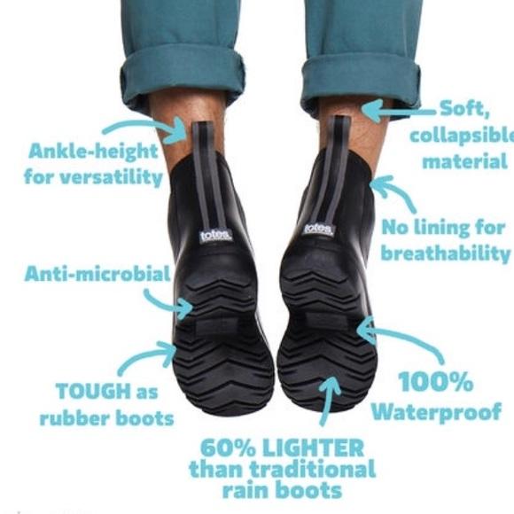e3c0c1a169df3 totes Shoes | Cirrus Mens Chelsea Ankle Rain Boot Size 12 | Poshmark